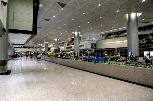 桃園国際空港ロビー