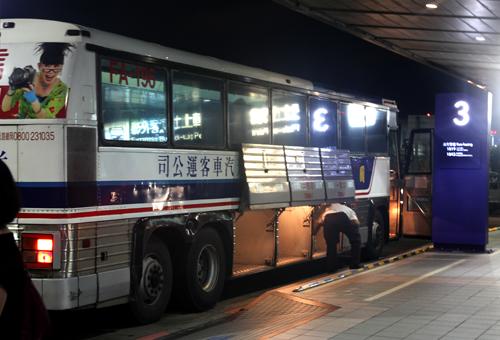 台北駅行きバス