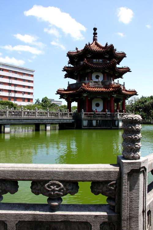 中国式古典亭閣