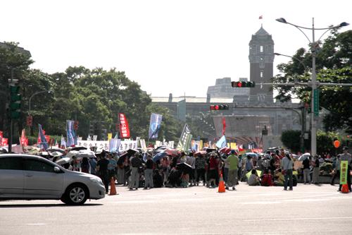 台北の集会