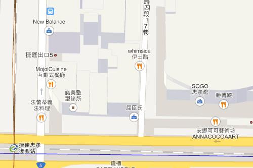 旧googlemap台湾地図