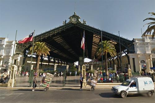サンディアゴ中央駅